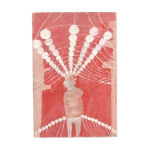 DUPREZ Alexandra Sans titre, 2003 Gouache sur carton 40x40 cm