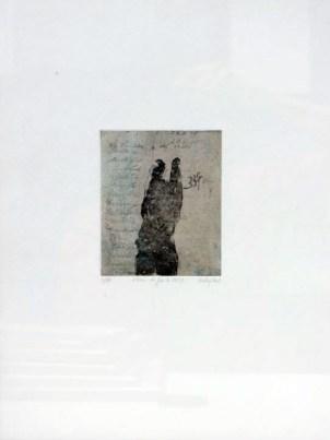 HINNEBURG Florence Album de famille 1937, 2002 gravure 39x30 cm
