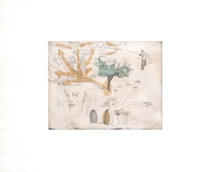 ISHII Atsuko Singing tree, 2002 Gravure 52x61 cm