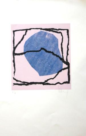 LE SAËC Thierry Sans titre technique mixte 66x43 cm