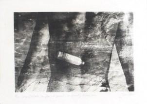 PITROU Pierre Corps flottants (au flux) et gisants (au jusant), 2002 photographie 32x42 cm