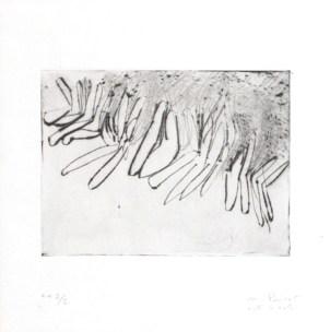 PRIVAT Noémie Sans titre 2005 gravure 29x29 cm