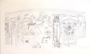RENAULT Emilie Sans titre, 2007 Sérigraphie 63x100 cm