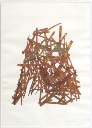 RONCO Antoine Tipi 8/50, 2007 sérigraphie 50x70 cm