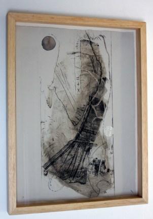 BURET Nelly, Où vont les îles, 2012, aquatinte, 30x40cm