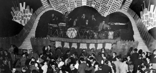 Georges Brassens au Balajo, années 50