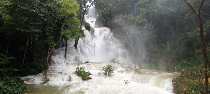 Laos – Jour 17 – Visite de villages et Trekking à la cascade Khouang Si