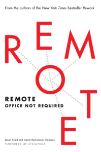 "Livre ""Remote : Office Not Required"""