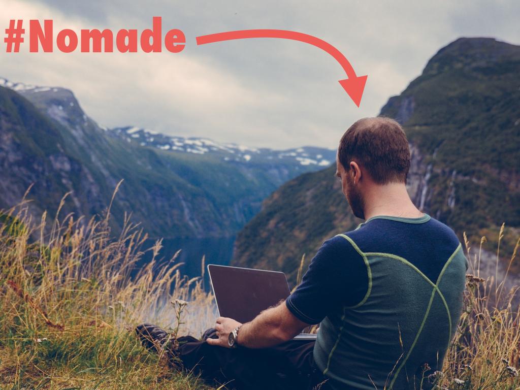 """Le """"digital nomad"""" est """"nomade"""""""
