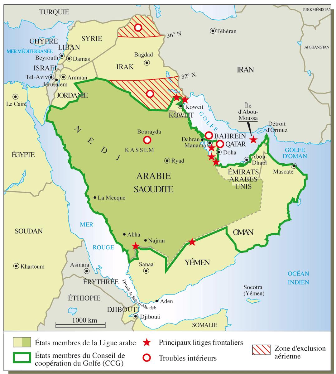 """Résultat de recherche d'images pour """"L'Arabie Saoudite en profite aussi pour faire le ménage à ses frontières."""""""