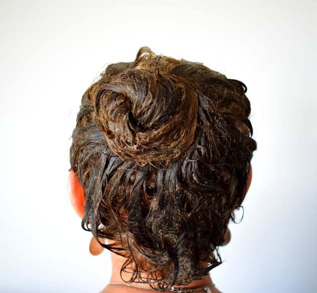 pose masque coco guimauve odyssees - Recette masque cheveux facile à l'huile de coco