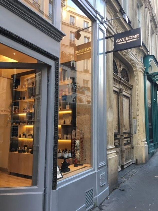 Boutique Awesome Paris 9 : cosmétiques bio chics et de luxe