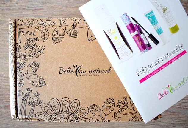 box bio belle au naturel mai 2018 - Box beauté Belle au Naturel Mai 2018