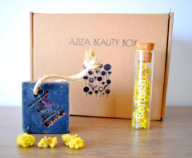 aziza beauty box juin juillet savonnerie du nebbiu - Aziza Beauty Box Juin Juillet 2018