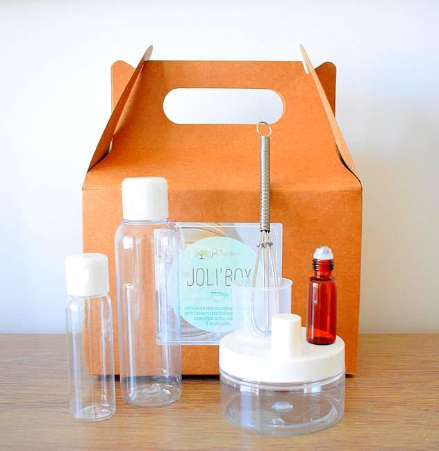 jolibox box cosmetique maison facile - Joli'Box : le kit pour débuter dans la cosmétique maison