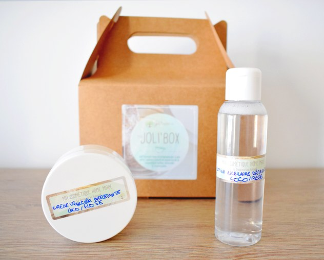 jolibox box kit diy facile - Joli'Box : le kit pour débuter dans la cosmétique maison