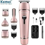 Kemei Kit Tondeuse Rechargeable Waterproof -10 In 1