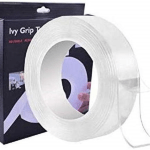 Ivy grip tape Scotch Magique Nano-Adhésive Double Face 5 Mètres  -Transparent
