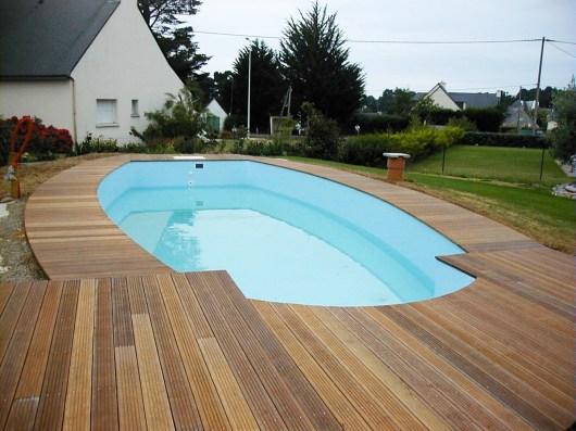 Terrasse en bois IPE à Sarzeau