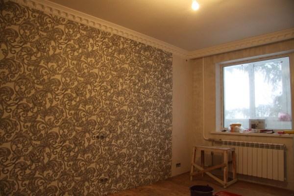 Красивые обои в зал фото: дизайн в квартире, интерьер ...
