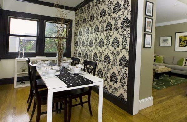 Современные обои: дизайн комнаты, фото 2017, идеи для дома ...