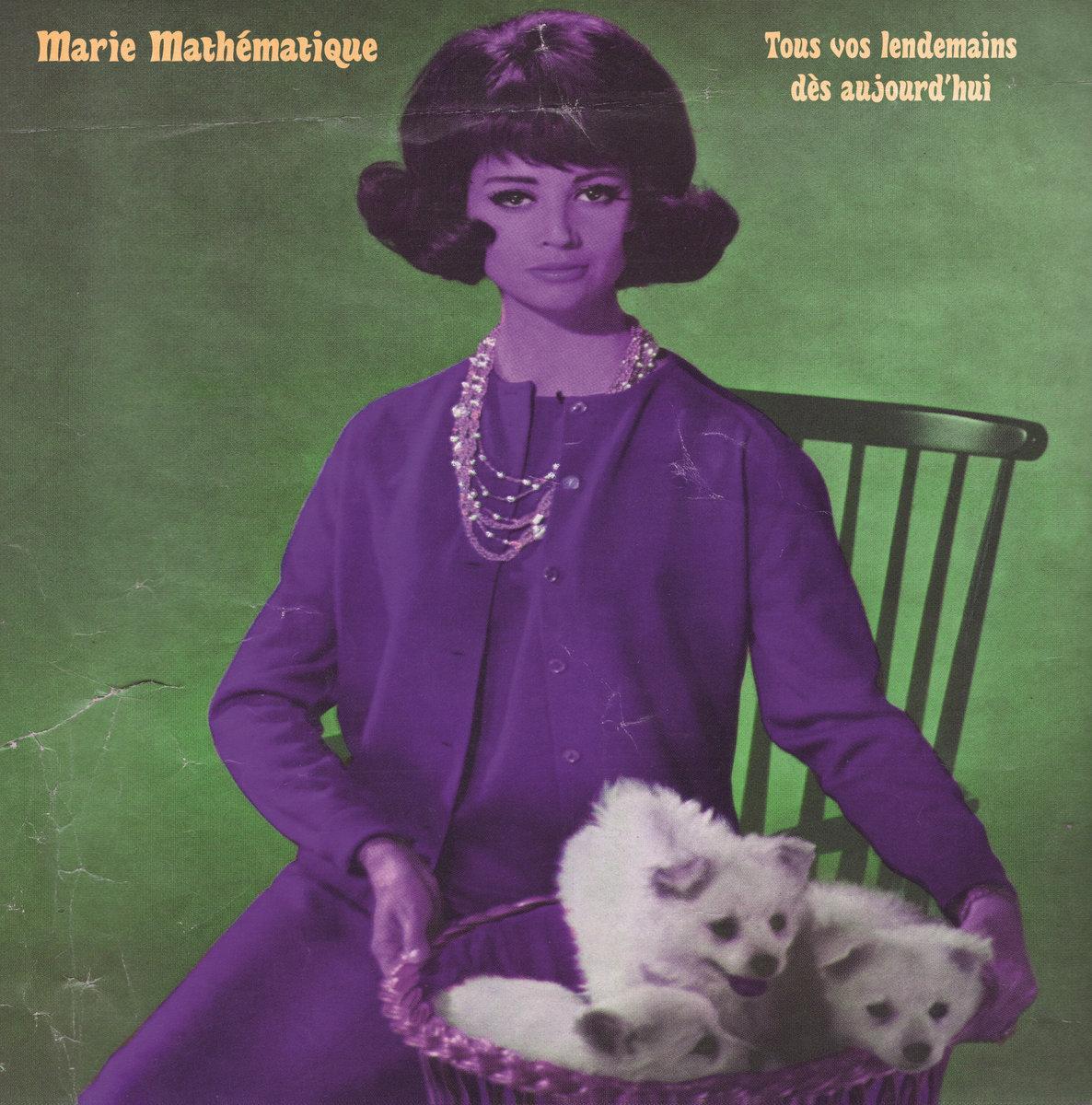 Cover MARIE MATHÉMATIQUE - Sinon, je serai autre chose