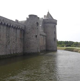 Château de Suscinio (douves)