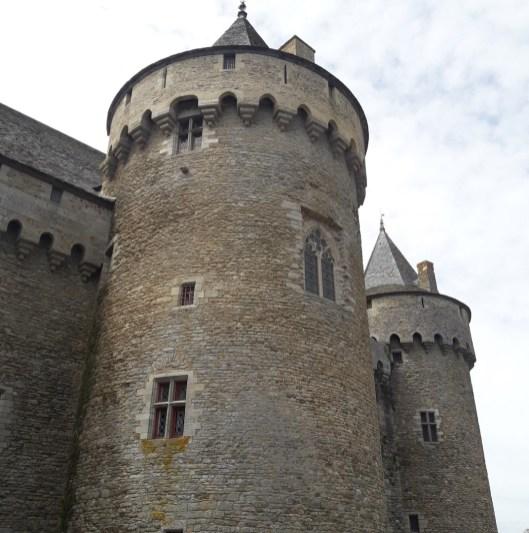 Tour du château de Suscinio (Morbihan)