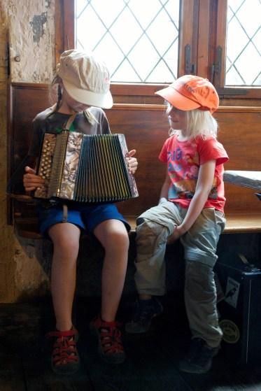 Essai d'un accordéon diatonique