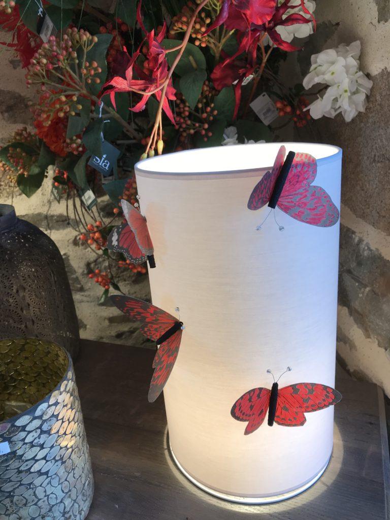 Mon endroit préféré-Papillons rouges-Les Papotis de Thalie