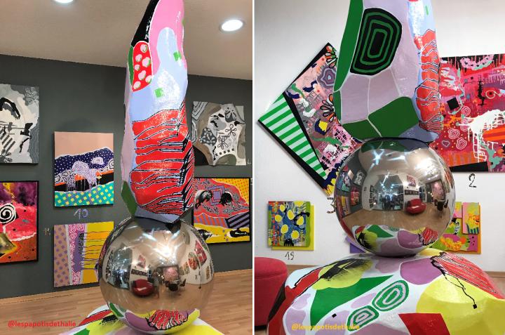 PDT-2018-2-Galerie Terre d'Ici-Thoma Ryse-Sculpture-Les Papotis de Thalie