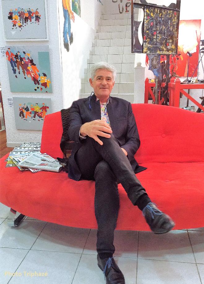 PDT-Galerie Terre d'Ici-Alain Ropars-Portrait-Les Papotis de Thalie