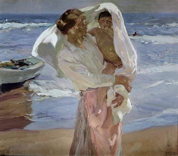 PDT-2018-Les Carrières de Lumières-Sorolla-Just Out of the Sea-1915-Les Papotis de Thalie