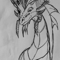 Dessin #2 : Dragon