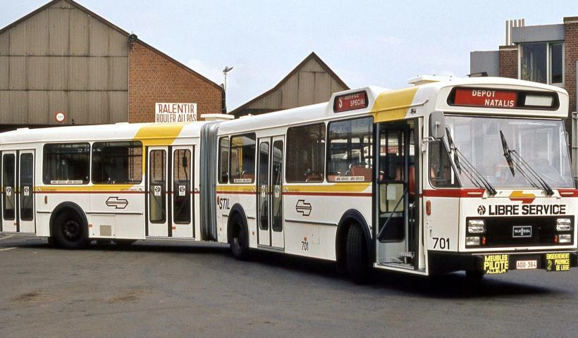 Le bus (c) Musée des Transports en Commun de Wallonie