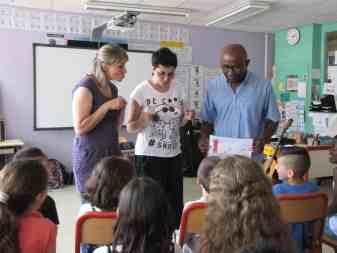 Conte en école primaire - juin 2016, Les Ulis