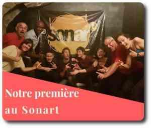 première au Sonart Paris all blags passe reves