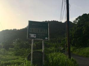 Panneau de signalisation de Cumberland