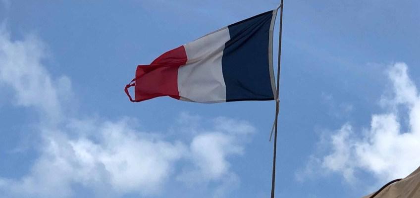 Pavillon français après 3 mois