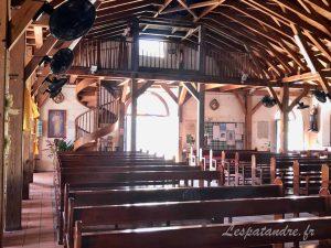 Eglise du Diamant, intérieur
