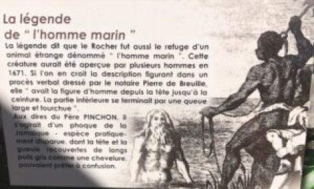 La légende du Rocher, l'homme marin