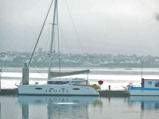 Aurore dans la baie de Lorient