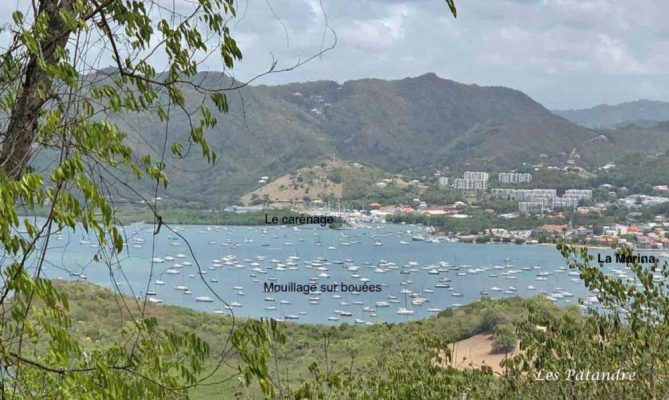 Mouillage du Marin