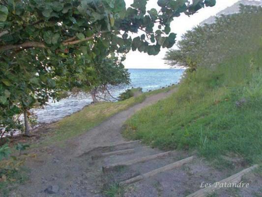Sainte Luce accès à la plage