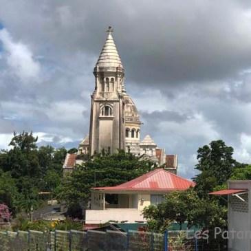 Eglise du Sacré-Coeur et la Mosquée de Balata