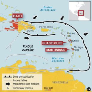 Plaques Caraibe-Petites Antilles