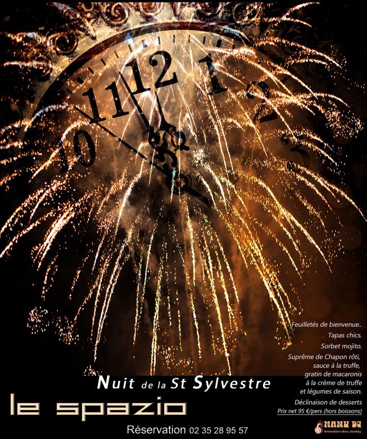 Réveillon de la Saint Sylvestre au Restaurant Le Spazio à Fécamp