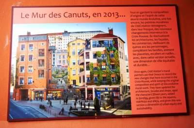 Fresque des Canuts en 2013