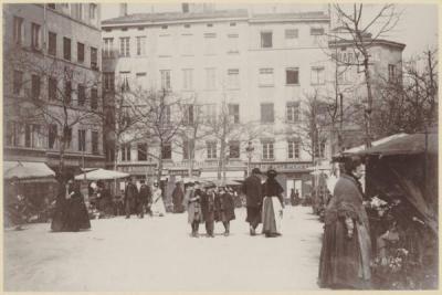 Place de la Croix-Rousse vers 1900