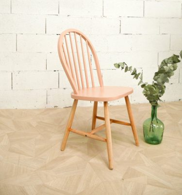chaise vintage nude